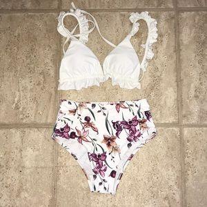 Cute Two piece bathing suit